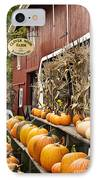 Autumn Farm Stand  IPhone Case by John Greim