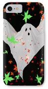 Autumn Ghost IPhone Case by Debra     Vatalaro