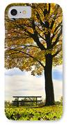Autumn Park IPhone Case by Elena Elisseeva