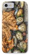 Autumn Texture IPhone Case by Wayne Sherriff