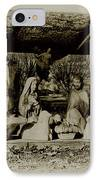 Away In The Manger IPhone Case by Bill Cannon