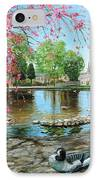 Bakewell Bridge - Derbyshire IPhone Case by Trevor Neal