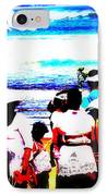 Balinese Beach Funeral  IPhone Case by Funkpix Photo Hunter