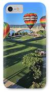 Balloons In Coolidge Park IPhone Case by Tom and Pat Cory