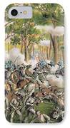 Battle Of The Wilderness May 1864 IPhone Case by American School