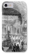 Beaux Arts Ball, 1861 IPhone Case by Granger