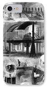 Bessemer Steel, 1876 IPhone Case by Granger