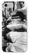 Bhopal Disaster Victims, India, 1984 IPhone Case by Ria Novosti
