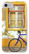 Bike Window IPhone Case by Carlos Caetano