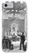 Black Convention, 1876 IPhone Case by Granger