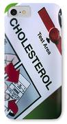 Blood Cholesterol Testing IPhone Case by Steve Horrell