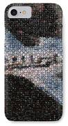 Bottle Cap Cessna Citation Mosaic IPhone Case by Paul Van Scott