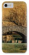 Bridge From The Past IPhone Case by Nishanth Gopinathan