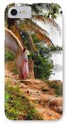Caballo Blanco IPhone Case by Skip Hunt