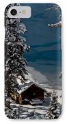 Cabin In The Woods IPhone Case by Mitch Shindelbower