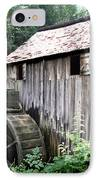 Cade's Grist Mill IPhone Case by Barry Jones