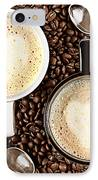Caffe Latte For Two IPhone Case by Gert Lavsen