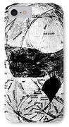 Canals Of Mars, Lowell, 1909 IPhone Case by Science Source