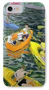 Canoes IPhone Case by Andrew Macara