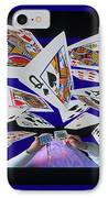 Card Tricks IPhone Case by Bob Christopher