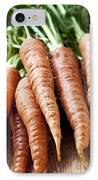 Carrots IPhone Case by Elena Elisseeva
