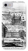 Chateau De Vincennes IPhone Case by Granger
