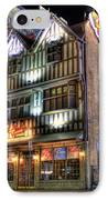 Cheli's Chili Bar Detroit IPhone Case by Nicholas  Grunas