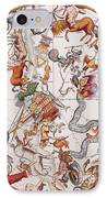 Constellations Of The Southern Sky, 1729 IPhone Case by Science Source