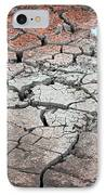Cracked Earth IPhone Case by Athena Mckinzie