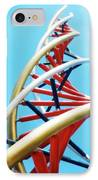 Dna Sculpture IPhone Case by Victor Habbick Visions