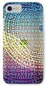 Dots Circles IPhone Case by Atiketta Sangasaeng