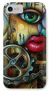 Dreamers 3 IPhone Case by Michael Lang