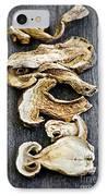 Dry Porcini Mushrooms IPhone Case by Elena Elisseeva