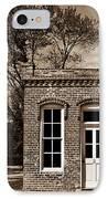 Early Office Building IPhone Case by Douglas Barnett