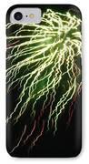 Electric Jellyfish IPhone Case by Rhonda Barrett