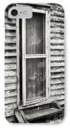 Enter Through The Back Door IPhone Case by John Rizzuto