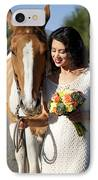 Equine Companion IPhone Case by Sri Maiava Rusden