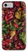 Fall Autumn Leaves IPhone Case by John Farnan