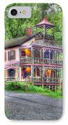 Feltville Historic District Store And Church  IPhone Case by Lee Dos Santos