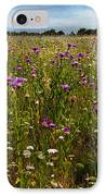 Field Of Thistles IPhone Case by Tamyra Ayles