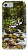 Forest Stream In Tatra Mountains IPhone Case by Artur Bogacki