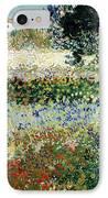 Garden In Bloom IPhone Case by Vincent Van Gogh