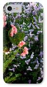 Geranium And Lilac Painting IPhone Case by Will Borden