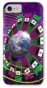 Global Communication IPhone Case by Victor Habbick Visions