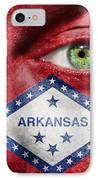 Go Arkansas  IPhone Case by Semmick Photo