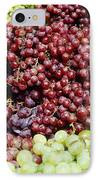 Grapes At A Market Stall IPhone Case by Jeremy Woodhouse