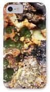Green Algae IPhone Case by Dr Keith Wheeler