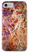 Grunge Background 3 IPhone Case by Carlos Caetano