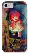 Happy Dolly IPhone Case by Susanne Van Hulst