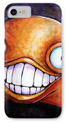 Hollywood Glob IPhone Case by Leanne Wilkes